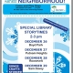 Library Event at Boyd Park: December 26