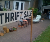 The Eastside Hill Thrift Sale is Back!