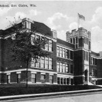 This building on Main Street was the Second Ward School, later Boyd School, and is now privately owned.